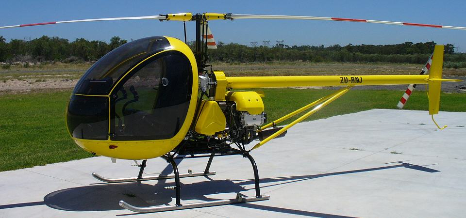 light utility two seat pilot training crop spraying anti poaching helicopter for south africa
