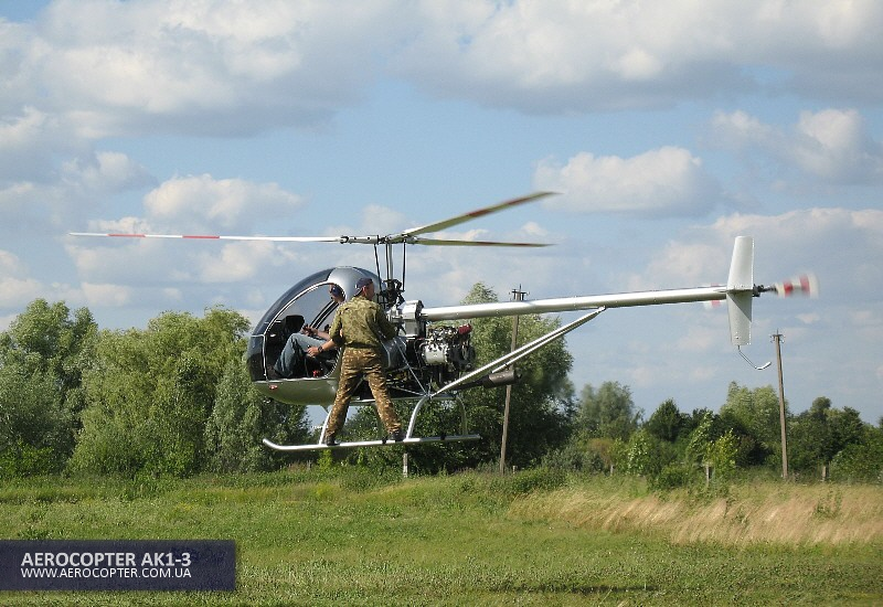 Powerful utility AK1-3 light helicopter