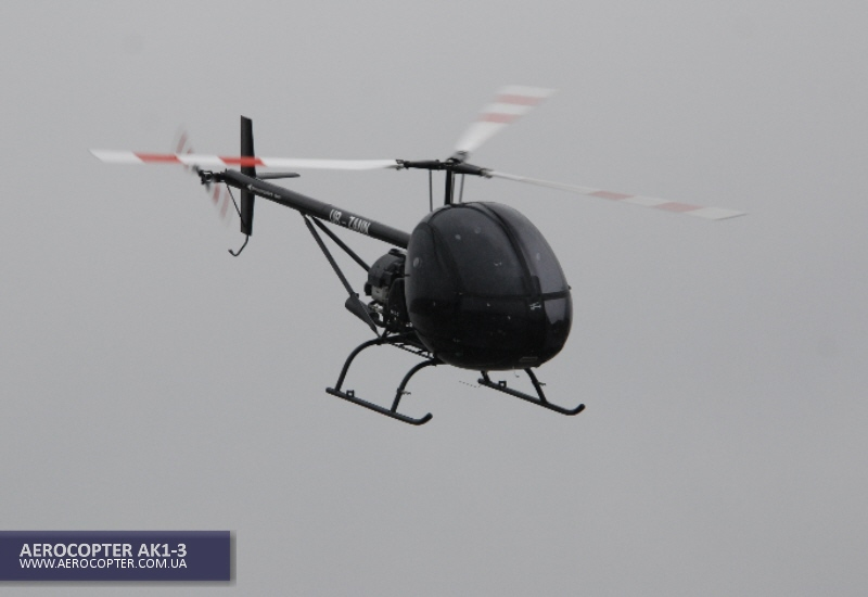 AK1-3 is the best helicopter for sports aviation, heli mustering and pilots training.